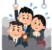 北海道人「ヒェー、東京の満員電車やばい。混みすぎだろ」
