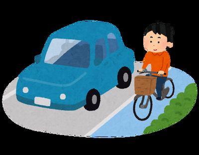 【画像】自転車の道路逆走が禁止になって罰金が科されるぞ!