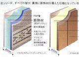 ビュート壁断熱パネル