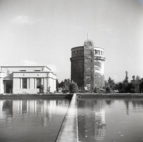 岡崎浄水場1953