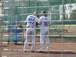 入来&染田打撃投手