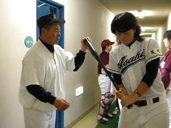 加藤さんと有坂捕手