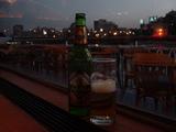 ナイル川でビール!