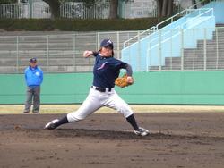 磯崎由加里投手
