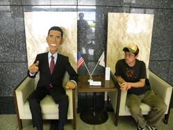 オバマとの会談