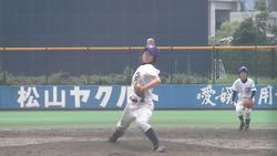 塁・厚ケ瀬投手