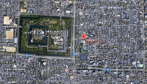 京都国際ホテル跡地