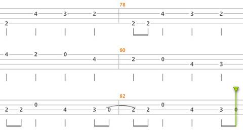 GUITAR-SOLO間のBASS7
