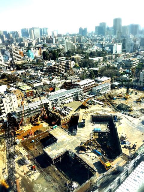 目黒駅前タワープロジェクト写真