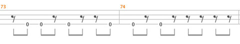 MICHAEL-JACKSON『BEAT-IT』BASS-TAB3