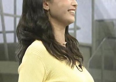 【乳揺れGIF】フジの新人アナ・渡邉渚の乳、さすがにデカすぎやろwwwwwww