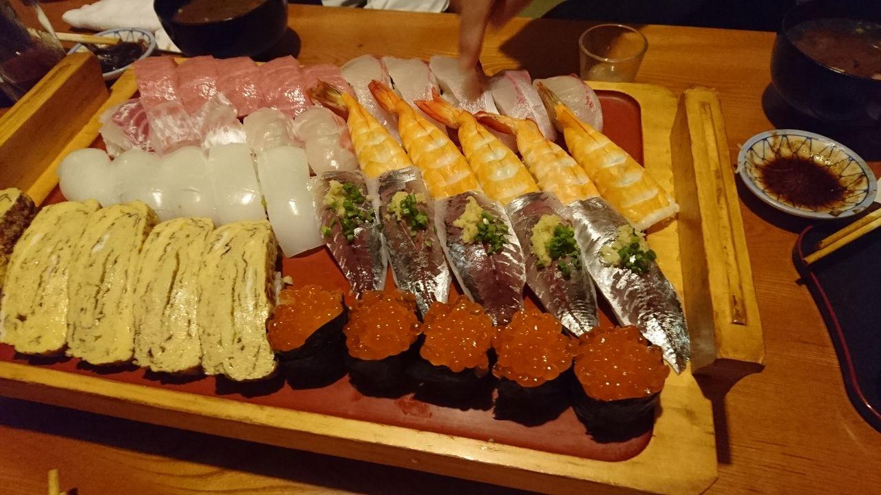 50.ホテルの寿司やの寿司