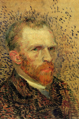 Self_Portrait_II,_Vincent_Van_Gogh