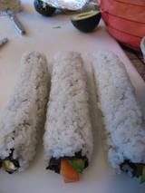 1. sushi making