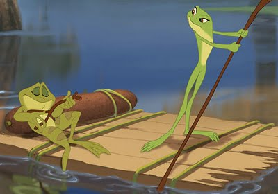 disney princess frog raft