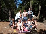 siskiyou lake with guys