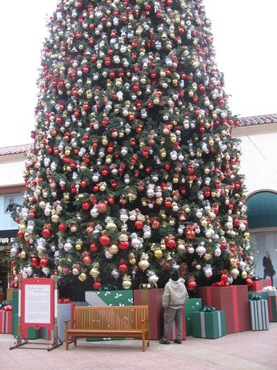 12 20 07 Last School, Fashion Island Tree, Gifts from Jean (23)