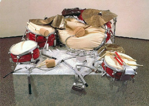 claes oldenburg giant soft drum set 1967