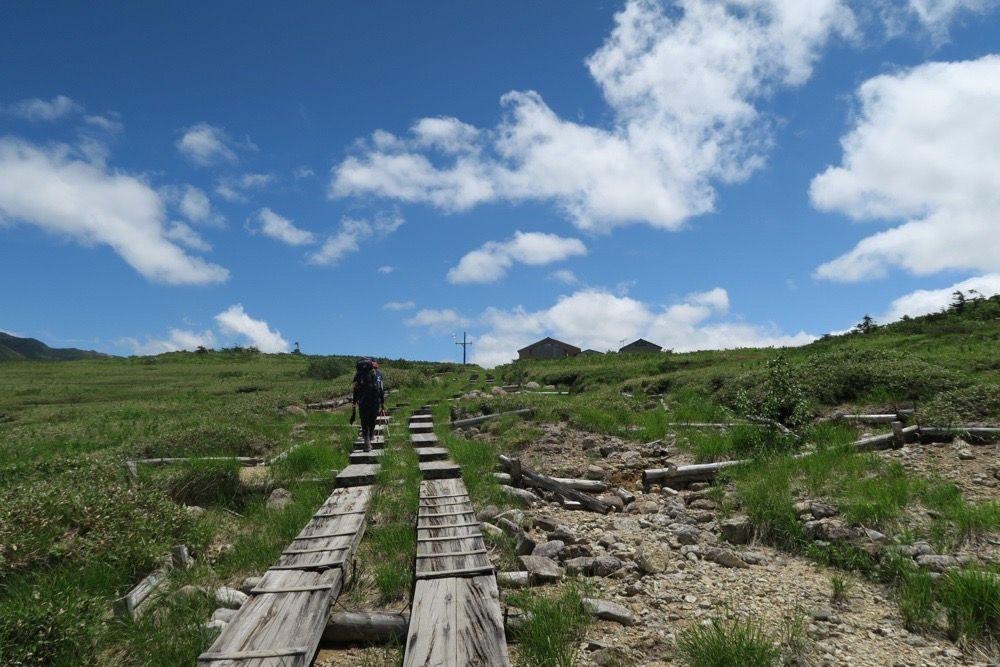 薬師岳、越中沢岳、鳶山、獅子岳など:ずいぶん遠くまで歩いた ...