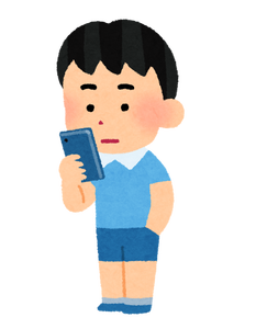 smartphone_boy_stand