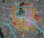 福山城と城下町