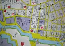 鎌倉河岸廻りの江戸切絵図(右下)