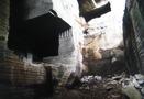 伊豆の石切場内部