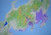 紫色(富士山が見える場所)