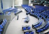 現在のドイツ連邦議会の議場