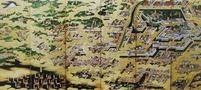 江戸図屏風(1634年頃の作成)