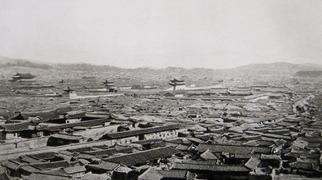 1894年の漢城(ソウル)