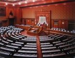 日本の国会参議院議場