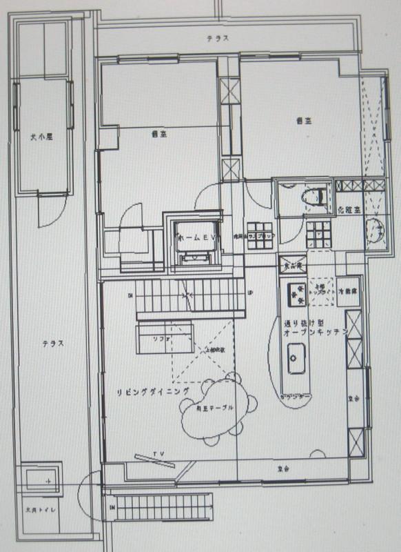 ビアンコ・カララの家 2階 ...