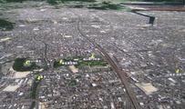 福山城を西から見る