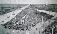 1890年頃のNYの絵画