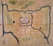 江戸期の福山藩絵図