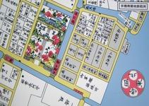 江戸切絵図(築地の南小田原町)