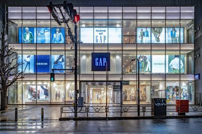 GAP原宿の旗艦店を閉店 ネットシフトに対応