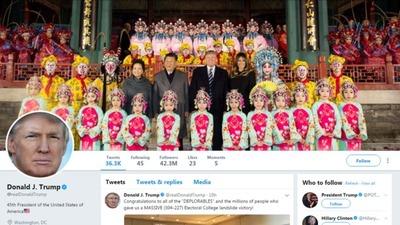 トランプ氏、中国でもツイート どうやって? なぜ重要?