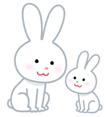 animal_usagi_oyako