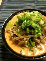 豆乳激辛坦々麺