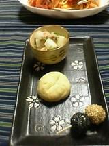 チーズごま団子 微妙パン 大根と水菜のツナサラダ