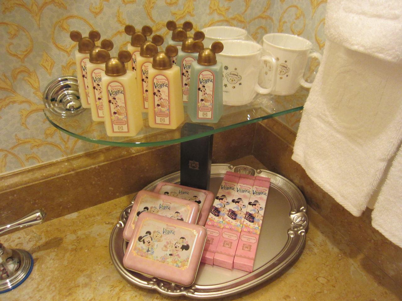 ディズニーリゾートホテルはアメニティも凄い!コレクションしたくなる