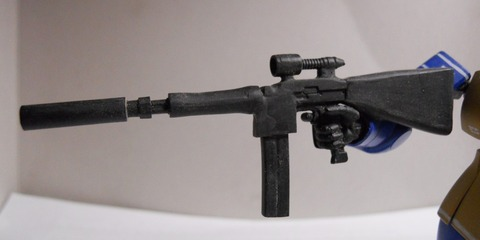 HGUCシャアザク改造リアルタイプカラー旧ザク改造ライフル