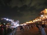 京の七夕 川床