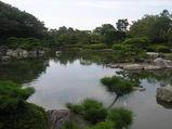 福岡市デンマーク家具店シーデスタより日本庭園2
