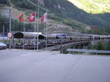 福岡市デンマーク家具店シーデスタよりスイスの鉄道1
