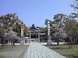 シーデスタより亀山神宮1