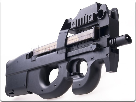 how to hold a p90