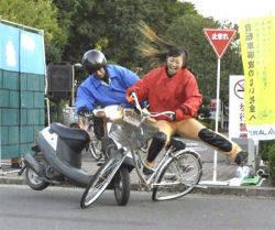 自転車と歩行者の事故が増加し ...